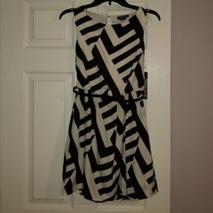 Sequin Hearts Dresses - Black and White dress